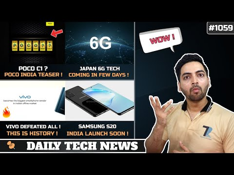 POCO C1?,Vivo Defeated Xiaomi & Samsung,Indian Judiciary With AI,Space Flight,Japan 6G started #1059