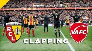 Le clapping après Lens - Valenciennes