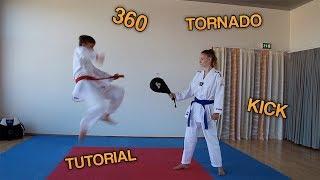 Tornado kick Tutorial (dansk)
