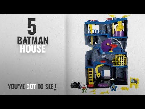 Top 10 Batman House [2018]: Fisher-Price Imaginext DC Super Friends Batcave, [Amazon Exclusive]