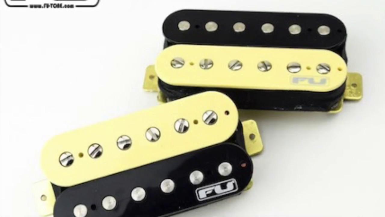 Fu Tonecom Guitar Pickups Demo Youtube Scott Tv Wiring Diagrams