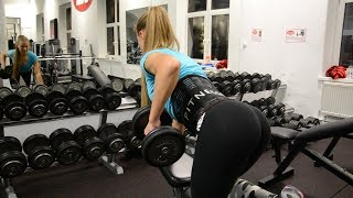 Fitness Training for Back & Triceps │ Victoria Sprlo