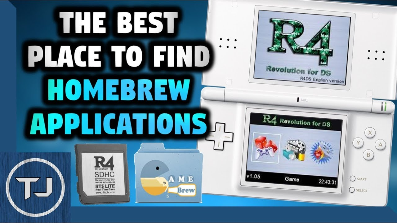 Best Place To Get HomeBrew Apps For R4! (DS & 3DS)