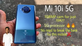Mi 10i Unboxing and Initial Impressions    Telugu lo    108MP cam for 20,000??   