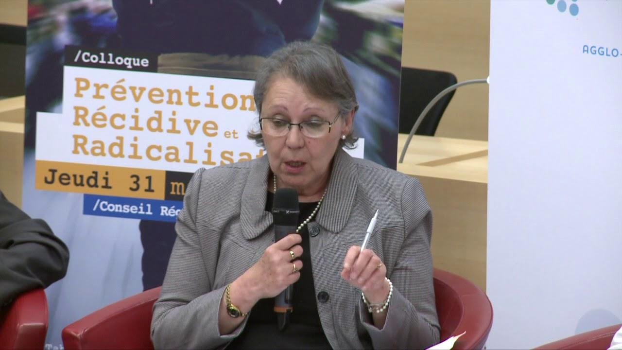 Colloque Prévention de la récidive et des radicalisations du 31 mai 2018 - 1ère table ronde