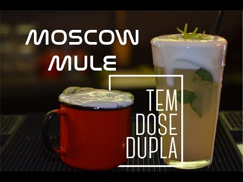 How to make a moscow mule with real ginger