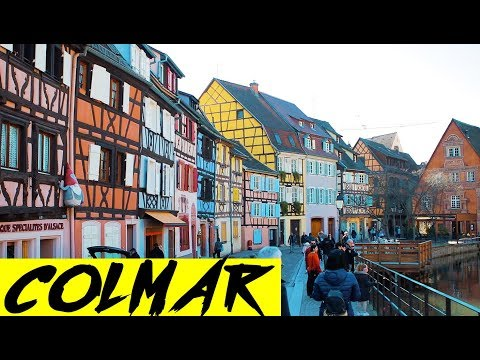Qué ver y dónde comer en Colmar, Alsacia