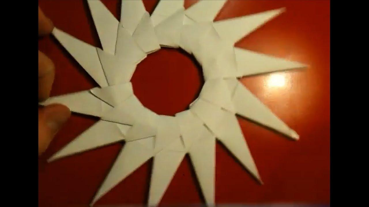 Anleitung: Modulares Origami