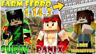 NUOVA FARM DI FERRO 1.14.3 *definitiva* w/SURIV e LORE-SCHAEFFER - Minecraft Ita #92