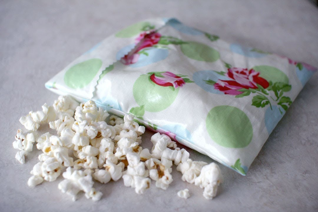 How To Make Reusable Sandwich Snack Bags Youtube