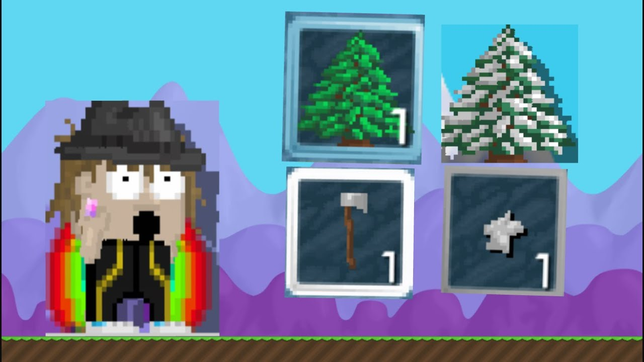 Growtopia Making Axe Of Winter Ft Frolic