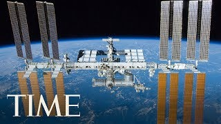 Russian Spacewalk Outside Of The International Space Station | TIME