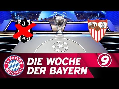 Die Woche der Bayern: Blickpunkt CL - Nach Besiktas ist vor Sevilla | Ausgabe 9