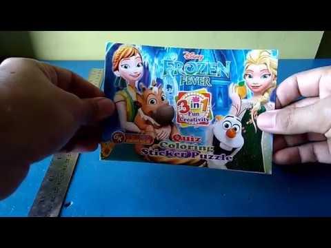 Frozen Belajar Mewarnai Princess Elsa Youtube