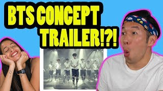 BTS (?????) CONCEPT TRAILER - KPOP REACTION VIDEO!! MP3