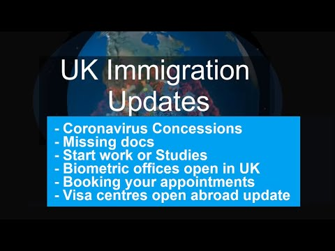 UK Immigration Updates July 2020 | #ukvi #ukvisa #brp #fingerprints #visituk #ihs #spouse #ukvcas