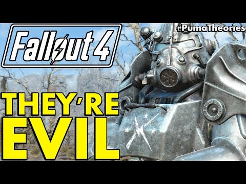 Fallout 4 Theory: Are The Commonwealth Minutemen Evil Villains? #PumaTheories