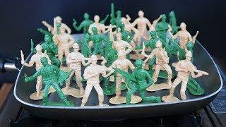 NUNCA DERRETA 100 SOLDADINHOS NA CHAPA QUENTE OU ISSO PODE ACONTECER!! ( A ARTE DA DESTRUIÇÃO )