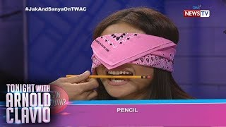 Tonight with Arnold Clavio: Sanya at Jak, sasabak sa 'What's in Your Mouth' challenge