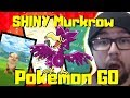 FIRST TIME at POKEMON GO : SHINY Murkrow / Raikou