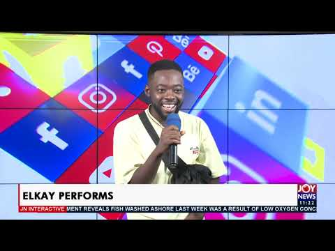 ELKAY Interacts: Musician speaks about his life and musical journey - JoyNews Interactive (12-4-21)