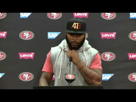 49ers Training Camp Press Conference | Antoine Bethea