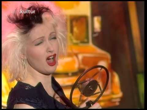 Cyndi Lauper - I Drove All Night 1989