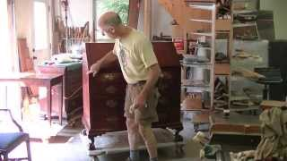 Restoring An 18th Century Chippendale Desk - Thomas Johnson Antique Furniture Restoration