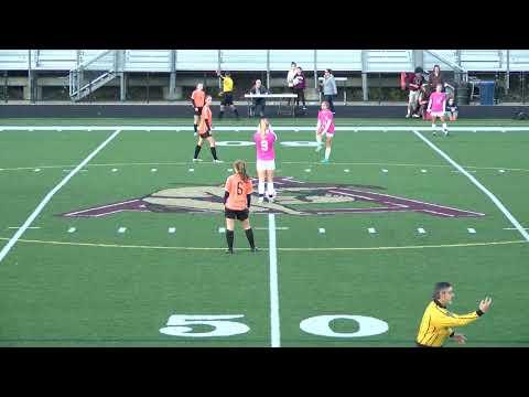 Arlington High School Girls Varsity Soccer vs Woburn - Oct. 17, 2017