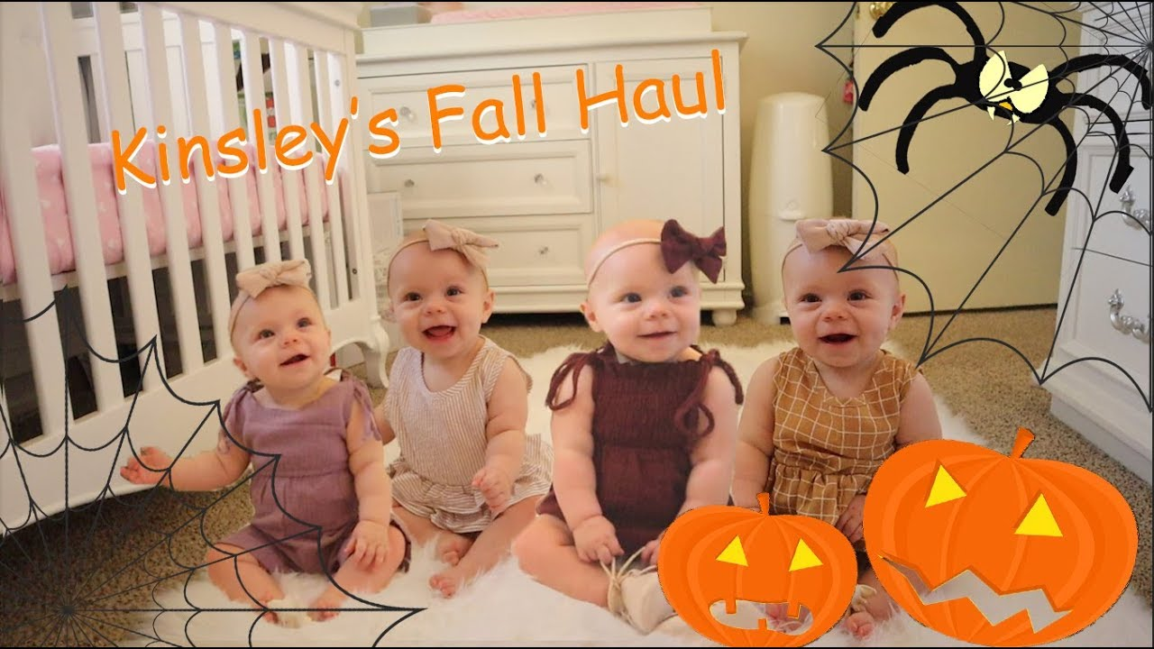 BABY GIRL FALL CLOTHING HAUL 2019 | LOOKBOOK
