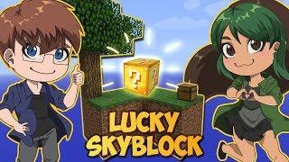Lucky Skyblock - Minecraft Ekspeditionen