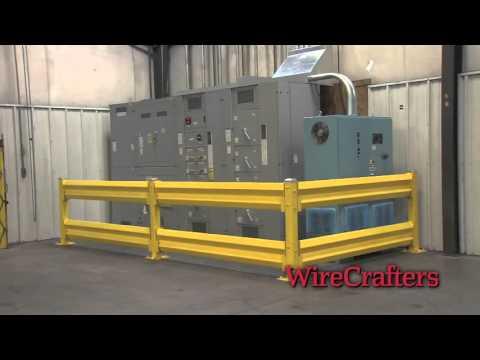 Защита оборудования, колесоотбойники, ограждение рабочего места