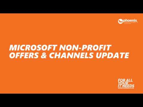 Webinar | Microsoft Charity Enterprise Agreement and CSP Offerings