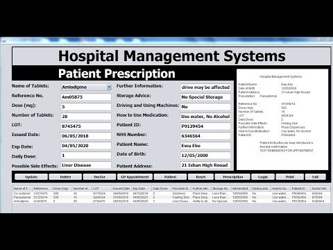 74418202659 How to Create a Hospital Management Systems in Java Netbeans - Full Tutorial