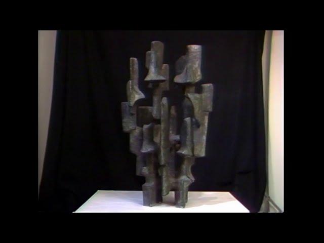 """Lunar III"" de Alicia Penalba / Catálogo razonado de esculturas MSSA"