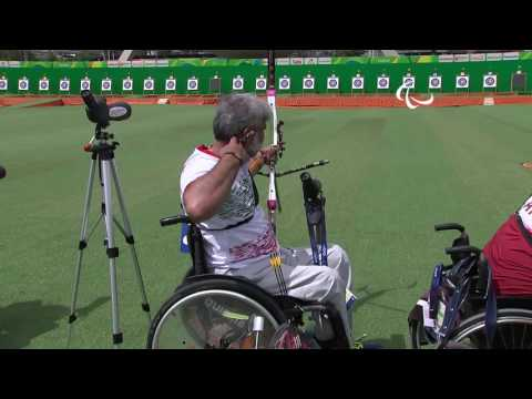 Day 3 morning | Archery highlights | Rio 2016 Paralympic Games