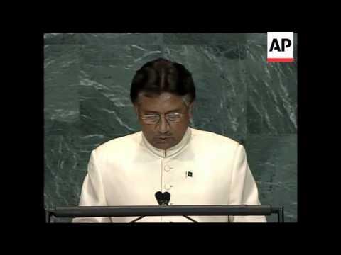 Mugabe, Musharraf, plus South Korean, Finnish delegates address UN GA