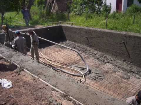 Piscina 10 x 5 en ca uelas youtube for Construir pileta de hormigon