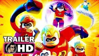 THE INCREDIBLES 2 LEGO Game Trailer (2018) Disney Pixar
