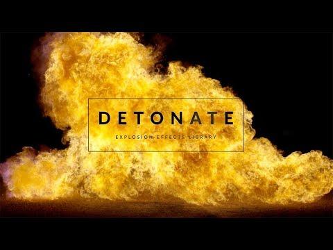 Detonate: 40 FREE Explosion SFX and VFX Elements