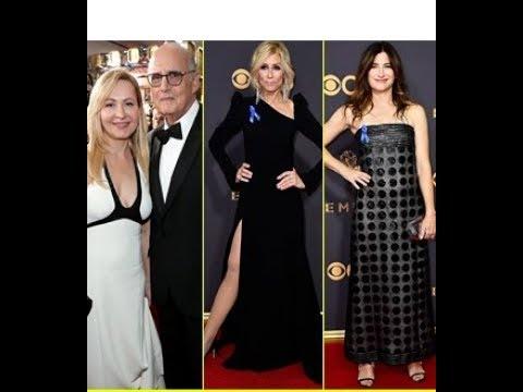 Transparent's Jeffrey Tambor Judith Light & Kathryn Hahn Hit the Emmys 2017 Red Carpet