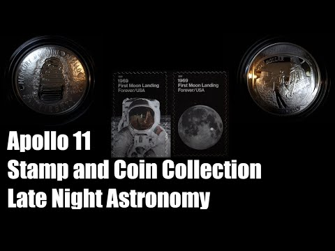 Apollo 11 50th Anniversary Stamp And Coin Collection