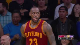 The Cavs Big Three Score OVER ONE HUNDRED POINTS in Los Angeles | March 19, 2017