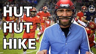 "Why Do American Football Quarterbacks Say ""Hut Hut Hike!""?"