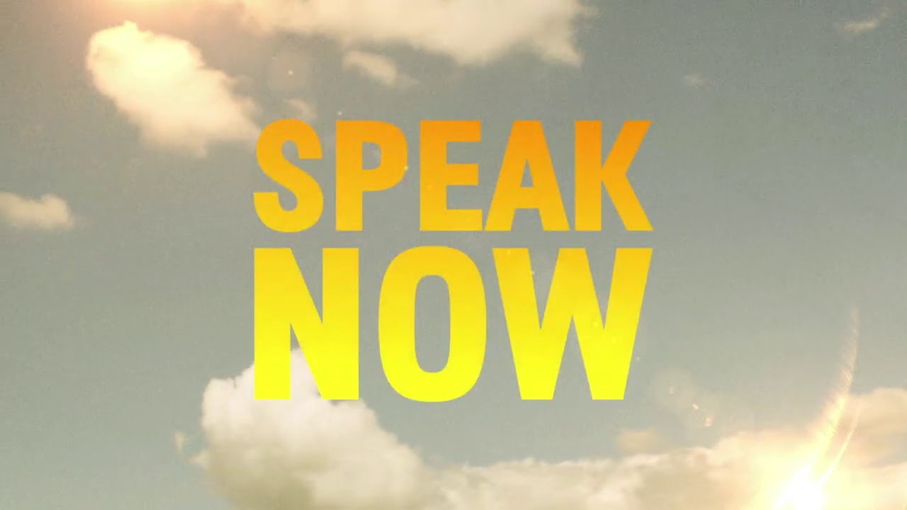 Leslie Odom Jr. - Speak Now (Official Lyric Video)