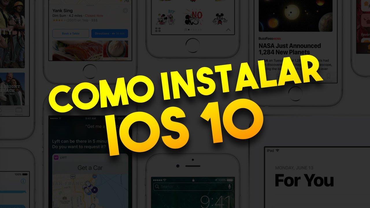 Como instalar o iOS 10 beta no iPhone ou iPad sem ser desenvolvedor