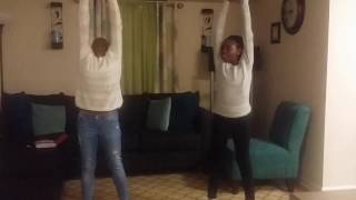 Sisters dancing to the tz anthem challenge!!!