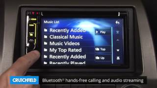 Kenwood Excelon DDX6903S Display and Controls Demo | Crutchfield Video