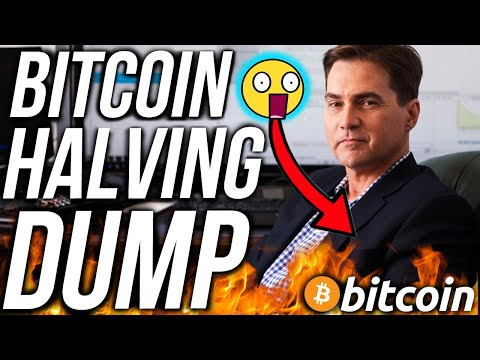 CRAIG WRIGHT BITCOIN HALVING DUMP?! BEST ALTCOINS MAY 2020! BITCOIN & CRYPTO NEWS!