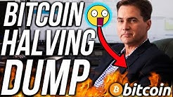 CRAIG WRIGHT BITCOIN HALVING DUMP?! BEST ALTCOINS MAY 2020! CRYPTO NEWS!